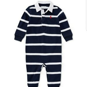 Polo Ralph Lauren Striped Rugby Coverall